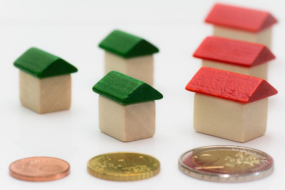 domky a peníze