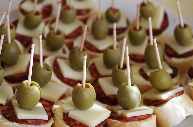 jednohubky a olivy